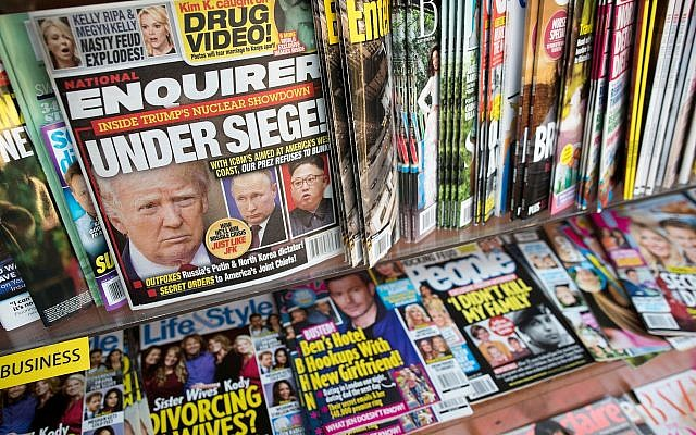 National Enquirer kept safe full of potentially damaging stories about Trump: report