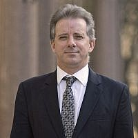 This Tuesday, March 7, 2017 file photo shows Christopher Steele, the former MI6 agent who set up Orbis Business Intelligence and compiled a dossier on Donald Trump, in London (Victoria Jones/PA via AP)