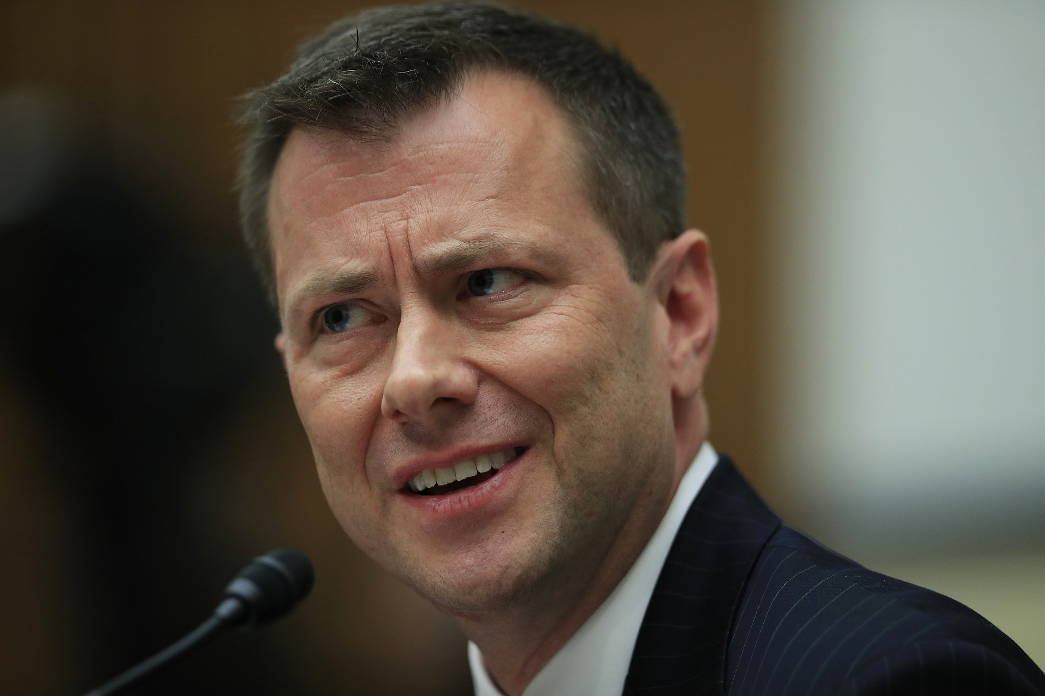 Federal Bureau of Investigation fires agent Peter Strzok who criticized Trump in text messages