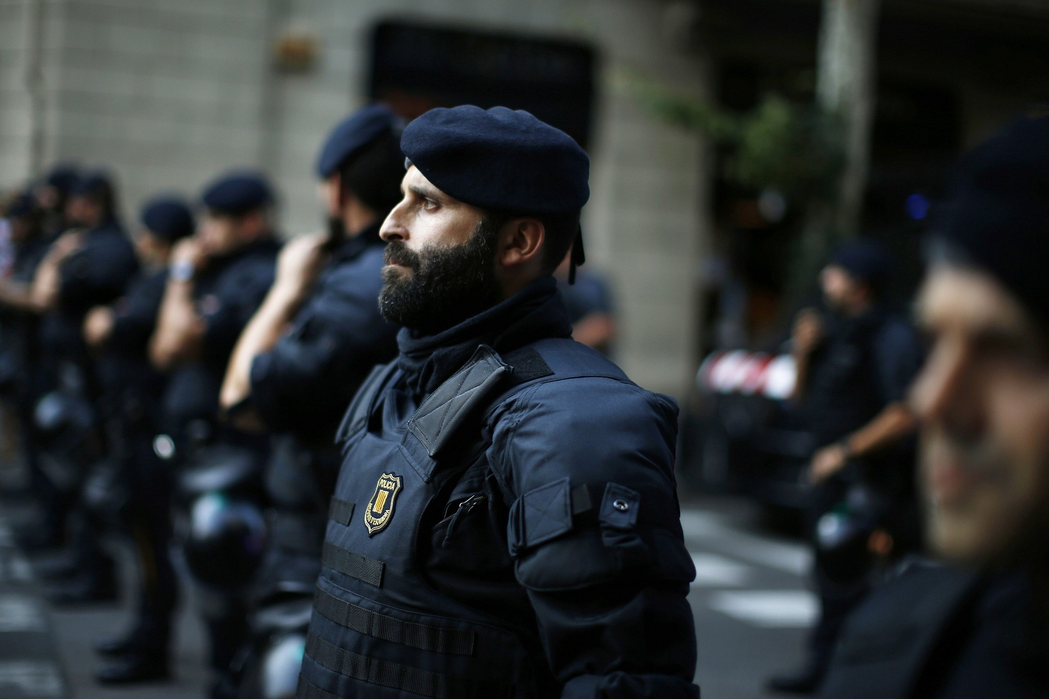 Security increased at police stations in Spain