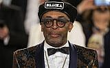 """In this May 14, 2018, photo, Spike Lee appears after the premiere of his film """"BlacKkKlansman"""" at the 71st international film festival, Cannes, southern France (Vianney Le Caer/Invision/AP, File)"""