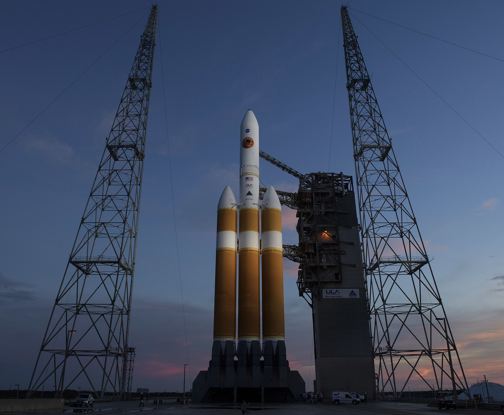 NASA launches the first probe, which will fly to the Sun