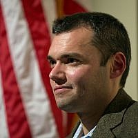Author Peter Beinart waits to speak at an event November 14, 2012, in Atlanta.  (AP Photo/ David Goldman/File)
