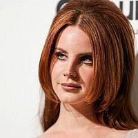 Lana Del Rey arrives at the 2016 Elton John AIDS Foundation Oscar Viewing Party at West Hollywood Park on February 28, 2016, in West Hollywood, California, US. (Photo by Rich Fury/Invision/AP)