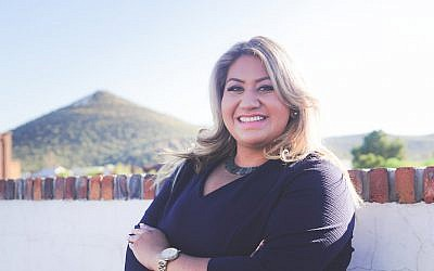 Alma Hernandez is running for the Arizona House of Representatives in November 2018. (Courtesy of Hernandez, via JTA)
