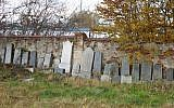 The Jewish cemetery of Żywiec, Poland, in 2007. (Adam Midor/Wikimedia Commons via JTA)