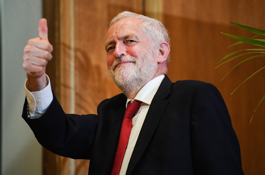 Britain's Labour leader sees 'real problem' of anti-Semitism in party