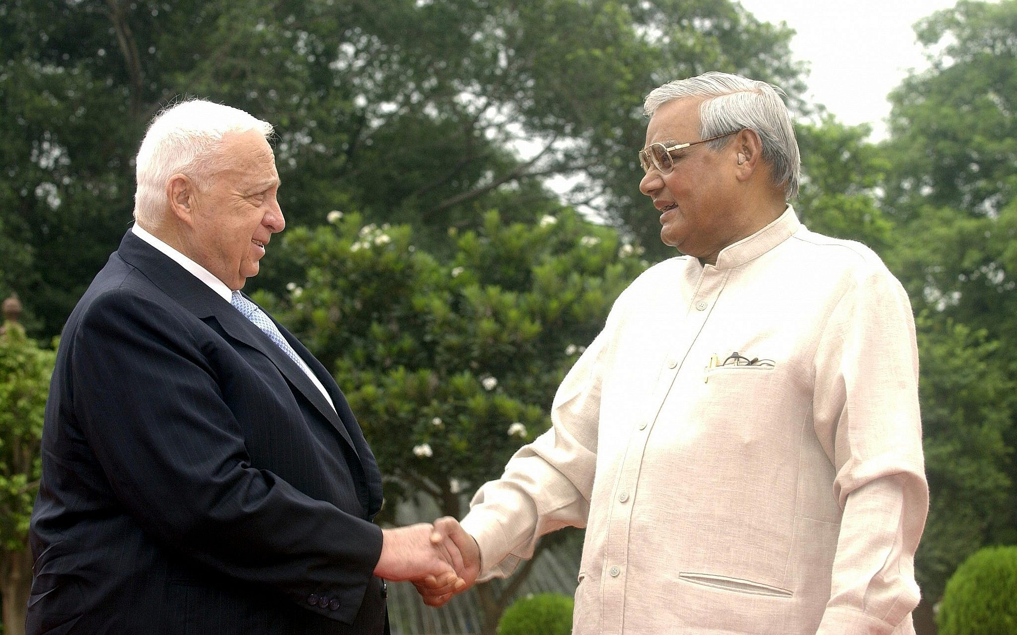 Former Indian leader who oversaw improved ties with Israel dies