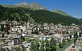 The Swiss town of Davos. (CC BY-SA MadGeographer, Wikimedia Commons)