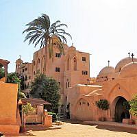 Wadi el-Natrun monastery in Egypt. (CC BY Lumen roma, Wikimedia Commons)