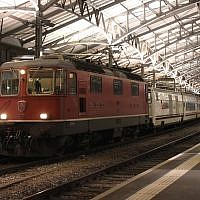 Illustrative image of a train at Lausanne station in Switzerland. (CC BY-SA NAC — Travail personnel, Wikimedia Commons)