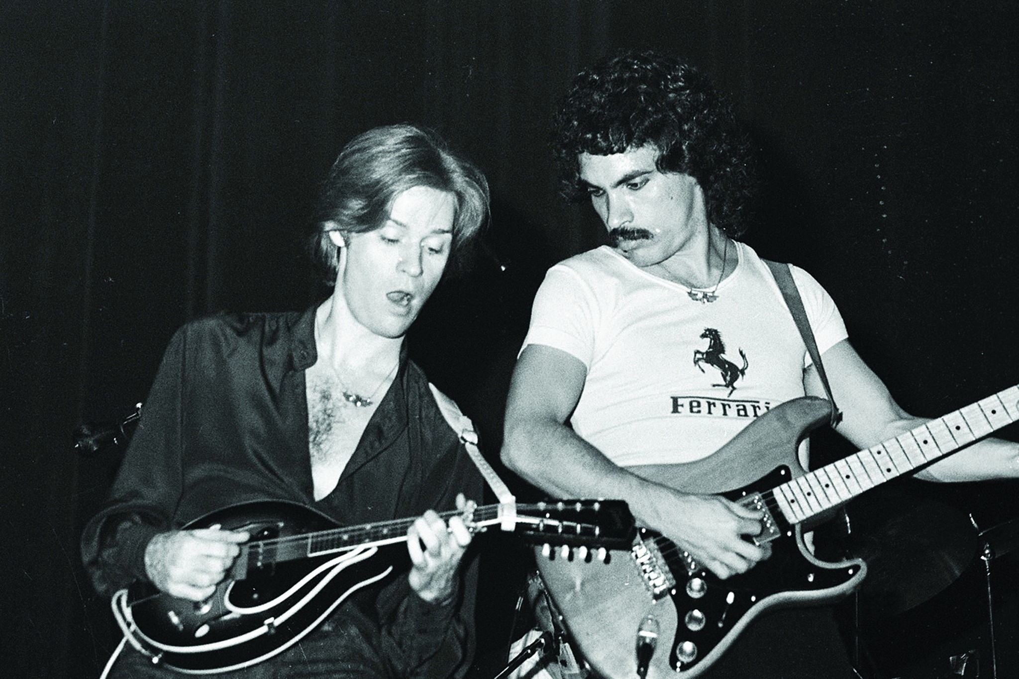 Hall and Oates at My Father's Place. (Steve Rosenfeld)