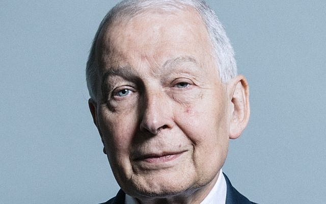 British MP Frank Field. (UK Parliament official portrait/Wikipedia/CC BY)