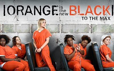 "The Netflix hit series ""Orange is the New Black"" is set in an all-women's prison. (Netflix via JTA)"