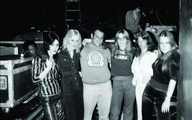 Michael 'Eppy' Epstein, center, with The Runaways. (Steve Rosenfeld)