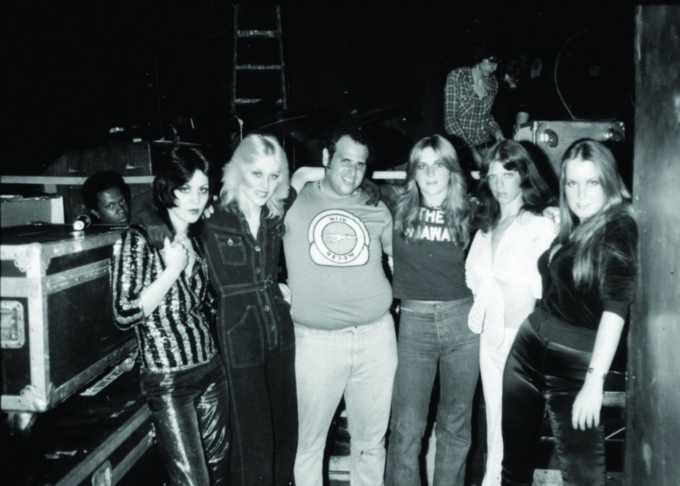 Michael 'Eppy' Epstein, center, with The Runaways. (Steve Rosenfeld)