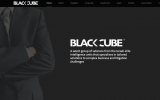 Black Cube's internet homepage (screenshot)