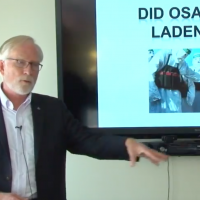 Prof. David Crane giving a lecture in October 2017 at Syracuse University (YouTube screenshot)