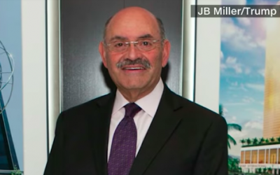 Allen Weisselberg, a top Trump Organization official and the company's longtime chief financial officer (screen capture: YouTube)