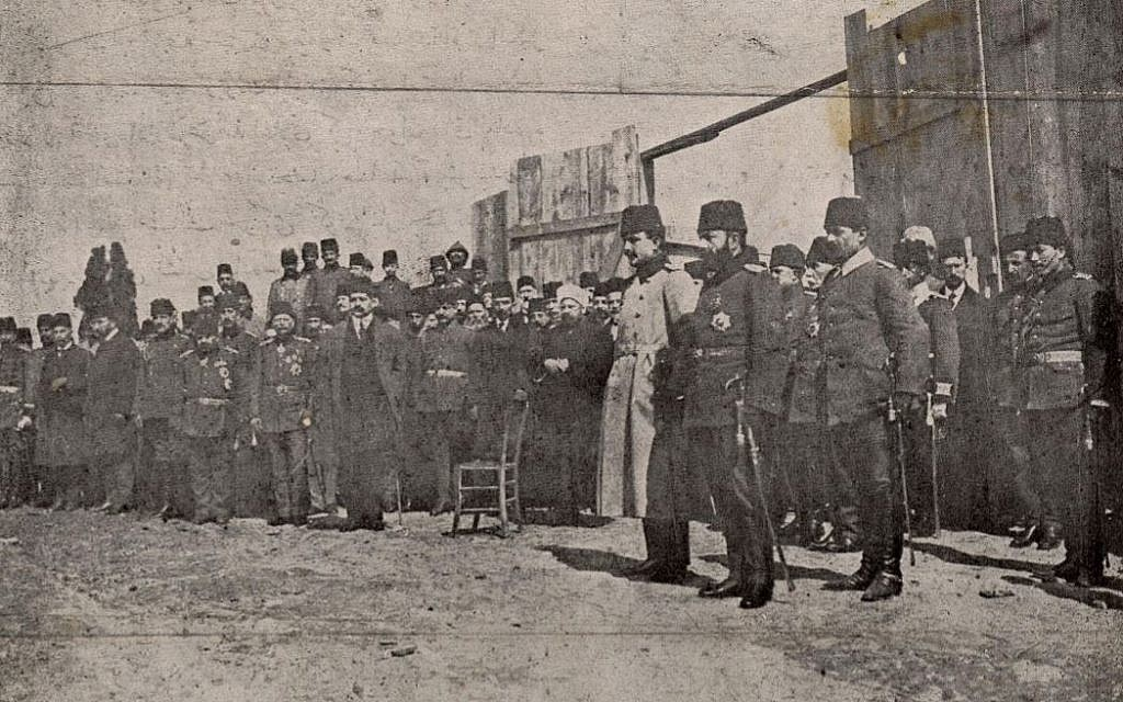 Before the Holocaust, Ottoman Jews supported the Armenian