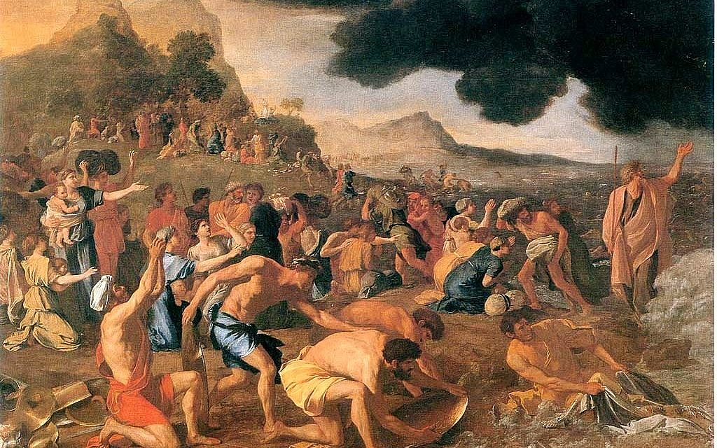 The Crossing of the Red Sea by Nicolas Poussin, 1634 (Public Domain)