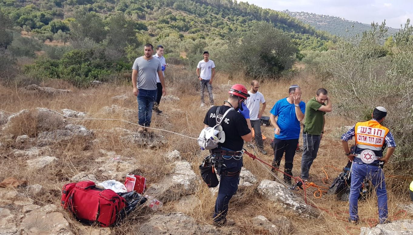 78-year-old man falls to death while rappelling in West Bank