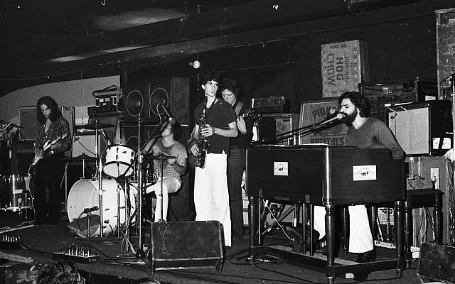 The Young Rascals at My Father's Place, 1976. (Steve Rosenfeld)
