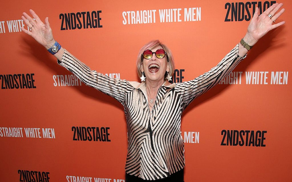 Kate Bornstein attends the Broadway Opening Night after party for 'Straight White Men' Broadway Opening Night at DaDong on July 23, 2018 in New York Cit  (Photo by Walter McBride/WireImage)