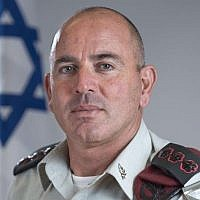 Col. Yigal Ben Ami, the commander of the IDFs Tel Aviv headquarters, who stepped down from his position amid a corruption investigation on August 16, 2018. (Israel Defense Forces)