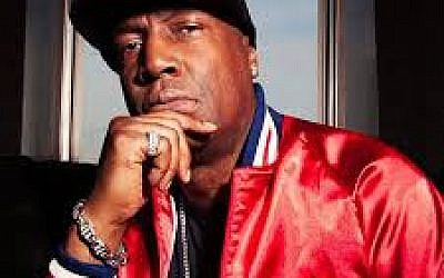Hip hop artist Grandmaster Flash returns to Israel in September (Courtesy Grandmaster Flash Facebook page)