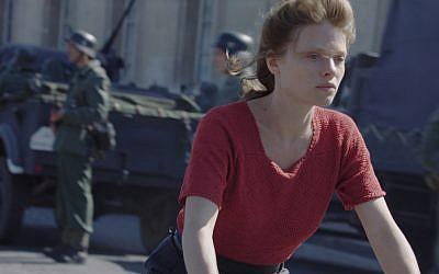 Melanie Thierry as Marguerite Duras in 'Memoir of War.' (Music Box Films)