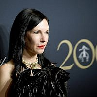 Jill Kargman attends the Brooks Brothers Bicentennial Celebration at Jazz At Lincoln Center on April 25, 2018 in New York City.  (Photo by Dimitrios Kambouris/Getty Images for Brooks Brothers via JTA)