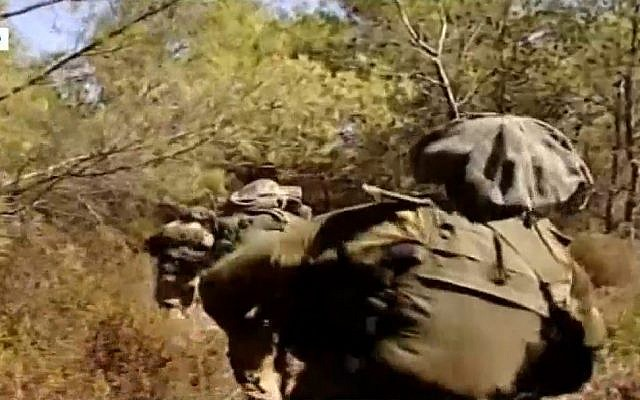 Illustrative: The elite Maglan IDF unit. (Screen capture: Channel 10)