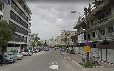 Ruth Street in Ramat Gan, in 2015. (screen capture: Google Street View)