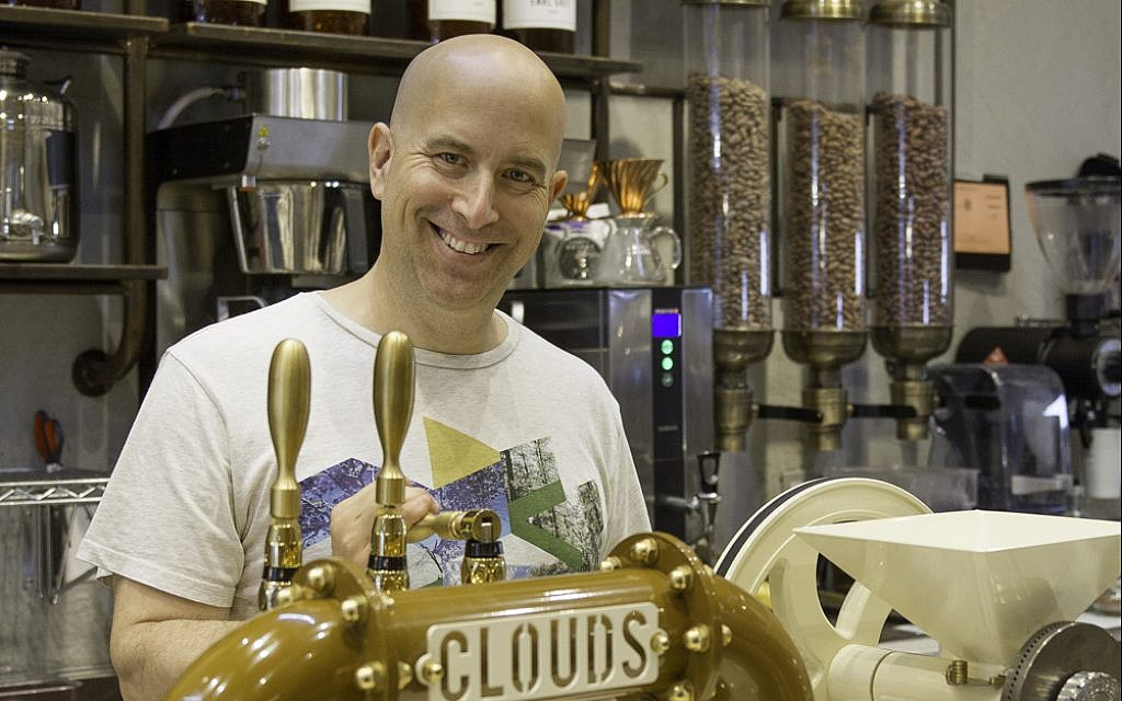 Oded Brenner, founder of the Max Brenner chain and now Blue Stripes. (Courtesy)