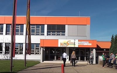 A view of New Middle School Zurndorf (YouTube screenshot)