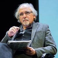 """Cartoonist Art Spiegelman attends the French Institute Alliance Francaise's """"After Charlie: What's Next for Art, Satire and Censorship at Florence Gould Hall on February 19, 2015 in New York City. (Mark Sagliocco/Getty Images via JTA)"""