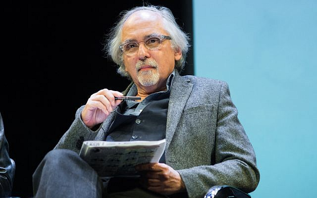 "Cartoonist Art Spiegelman attends the French Institute Alliance Francaise's ""After Charlie: What's Next for Art, Satire and Censorship at Florence Gould Hall on February 19, 2015 in New York City. (Mark Sagliocco/Getty Images via JTA)"