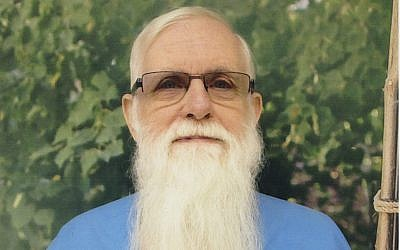 James A. White, who is serving a life sentence in prison in Vacaville, California established a community college program for fellow inmates. (Courtesy of J. The Jewish News of Northern California/via JTA)
