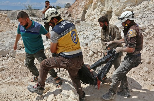 Russia Pounds Rebel Positions in Syria's Idlib