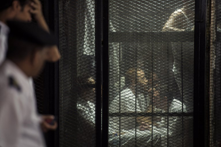 Egypt sentences 75 to death, hundreds to jail over 2013 sit