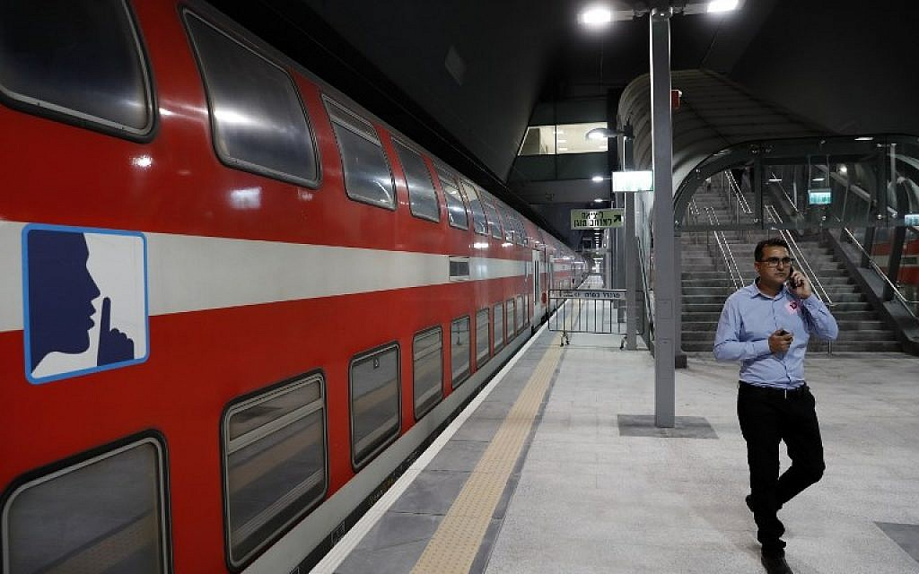 After long wait, Jerusalem-Tel Aviv fast rail finally almost nearly arrives | The Times of Israel