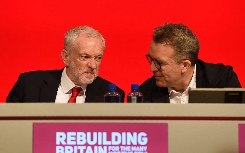 Deputy head of UK Labour feels 'ashamed' over anti-Semitism storm | The Times of Israel