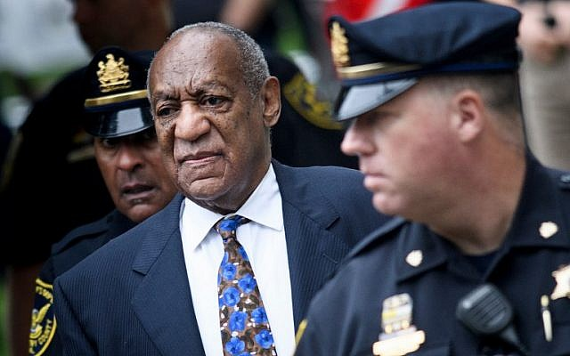 US actor Bill Cosby arrives at court on September 24, 2018 in Norristown, Pennsylvania to face sentencing for sexual assault. (AFP PHOTO / Brendan Smialowski)