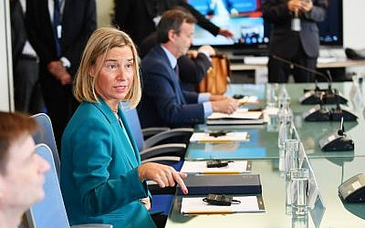 USA  'disturbed and deeply disappointed' by European Union  over Iran sanctions