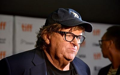 "Michael Moore attends the ""Fahrenheit 11/9"" premiere during the 2018 Toronto International Film Festival at Ryerson Theatre on September 6, 2018, in Toronto, Canada. (Presley Ann/Getty Images/AFP)"