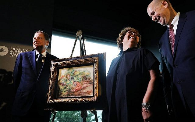 Renoir painting looted by Nazis returned to rightful owner's heir