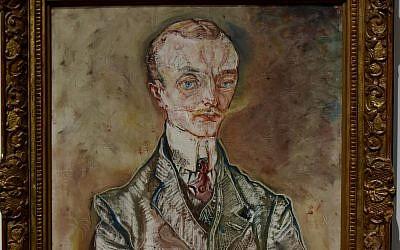 Painting entitled 'Marquis Joseph de Montesquiou-Fezensac' by Austrian artist Oskar Kokoschka (CC BY Richard Mortel, Flickr)