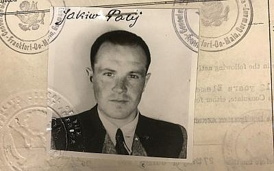 This 1949 photo provided by the US Department of Justice shows a US visa photo of Jakiw Palij, a former Nazi concentration camp guard who had been living in the Queens borough of New York. (US Department of Justice via AP)