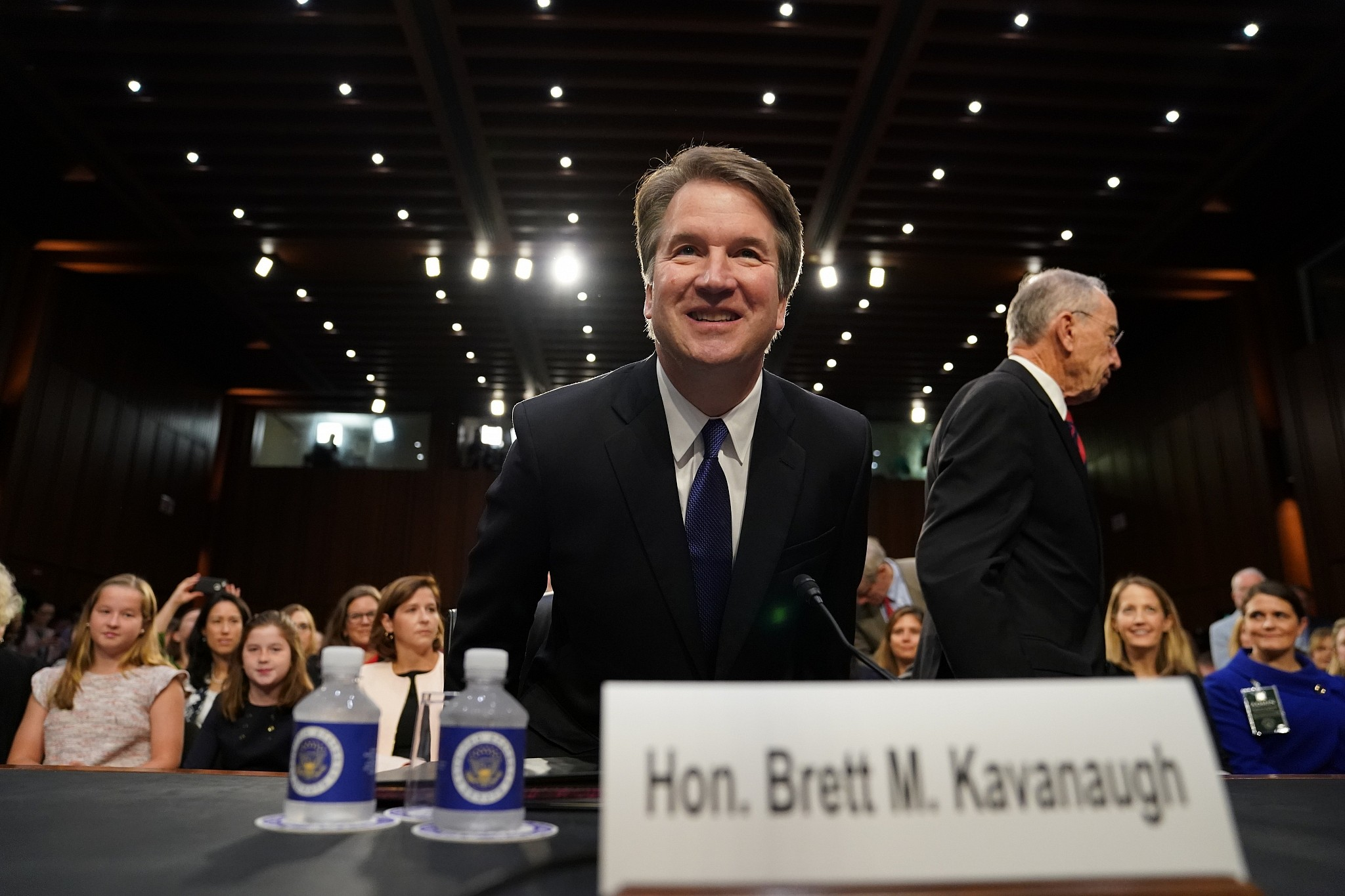 Supreme Court nominee Brett Kavanaugh's lips sealed on White House subpoenas, pardons